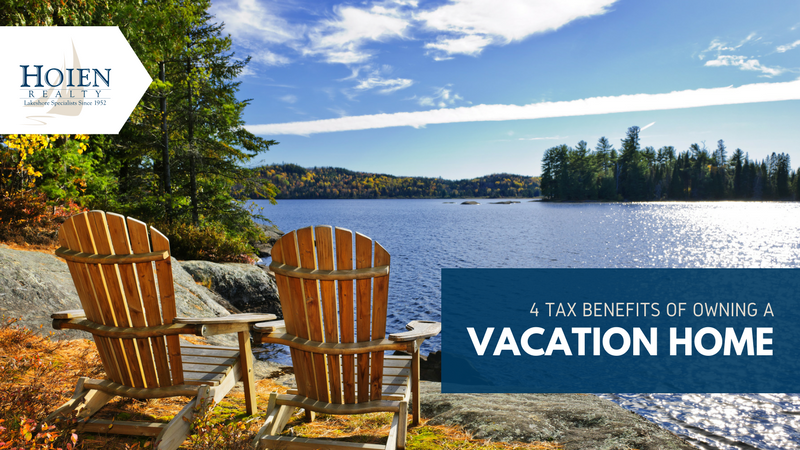 tax benefits of vacation homes