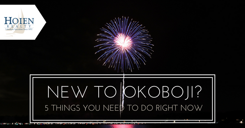 things to do in okoboji if you're new to the area