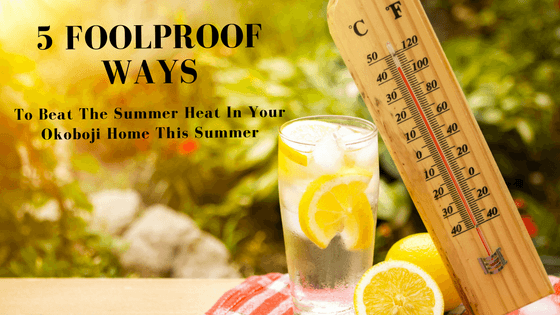 Beat the summer heat in your Okoboji, IA home