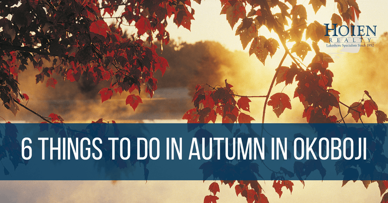 6 Things To Do in Autumn in Okoboji